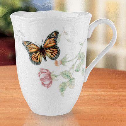 Lenox Butterfly Meadow Monarch Mug, China