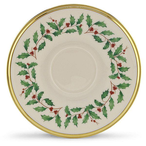 Holiday Lenox China Saucer $20.00 $16.95  sc 1 st  Silver Superstore & Holiday formal fine china dinnerware by Lenox China