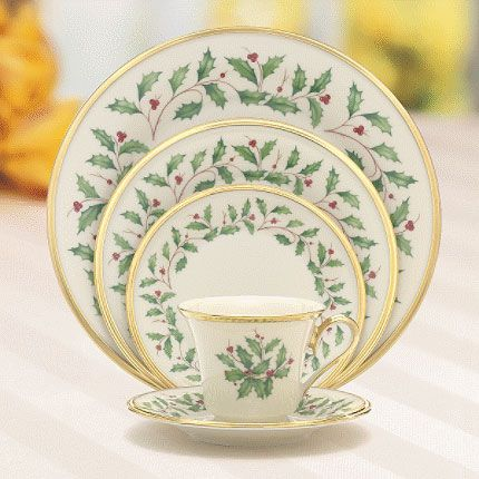 Holiday formal fine china dinnerware by lenox china Most popular china patterns