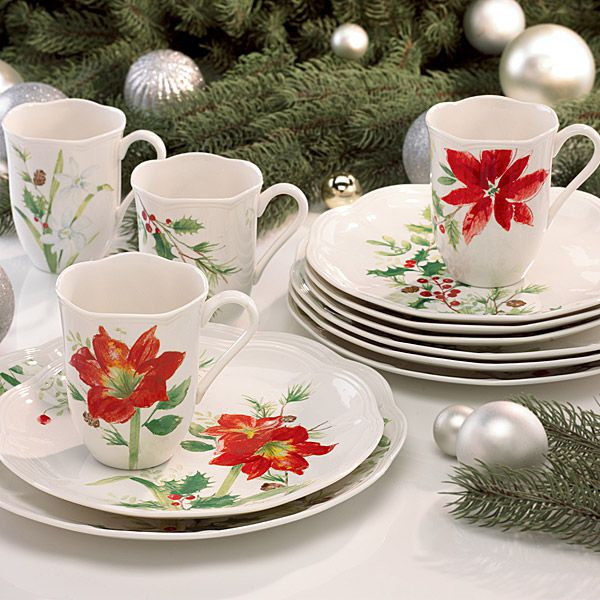 Larger Image & Lenox Winter Meadow Formal China Dinnerware | Silver Superstore