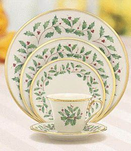 Holiday Lenox China