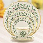 Christmas Winter Holiday China Dinnerware