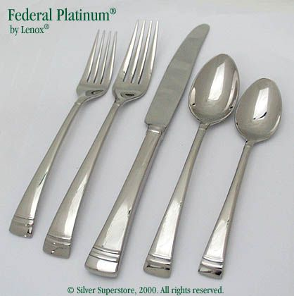 Federal Platinum By Lenox Stainless Flatware For Less