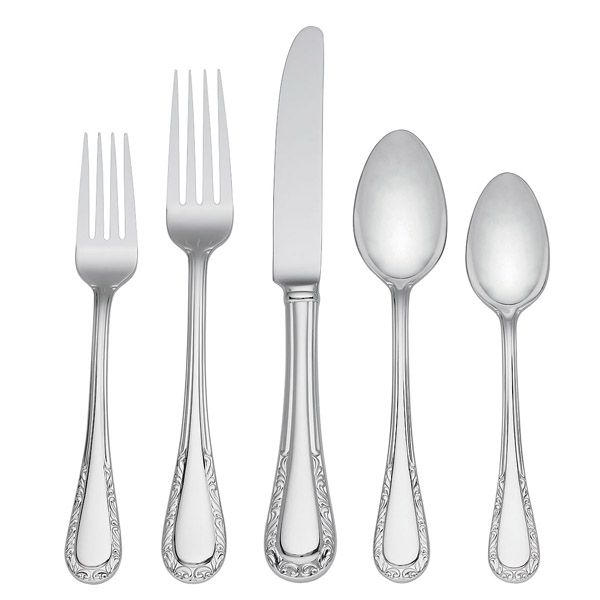 Lenox Venetian Lace New Stainless Flatware At Silver