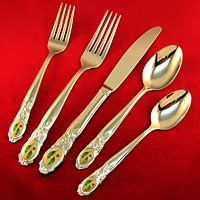 Lenox Holiday Platinum Stainless Flatware For Less