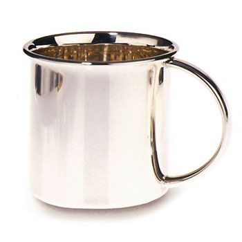 Classic Plain Sterling Silver Baby Cup by Lunt Silver