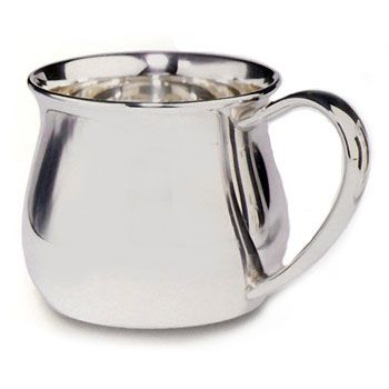 Kettle Sterling Silver Baby Cup by Lunt Silver