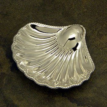Lunt Sterling Silver Baptismal Shell
