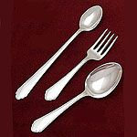 Lunt William and Mary Sterling Silver Baby and Child Silverware
