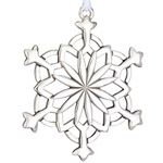 2012 Lunt Annual Snowflake Sterling Silver Christmas Ornament