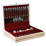 Magnolia Flatware Silverware Storage Chest by McGraw Wood Products