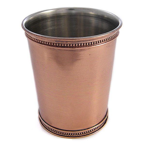 Copper Mint Julep Cup, Copperware, Barware