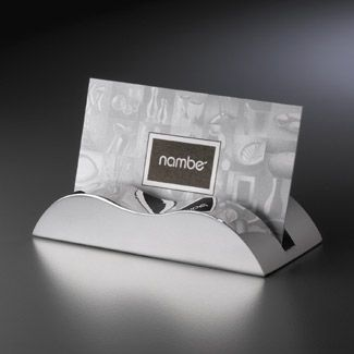 Wave business card holder by nambe nambe wave business card holder colourmoves Images