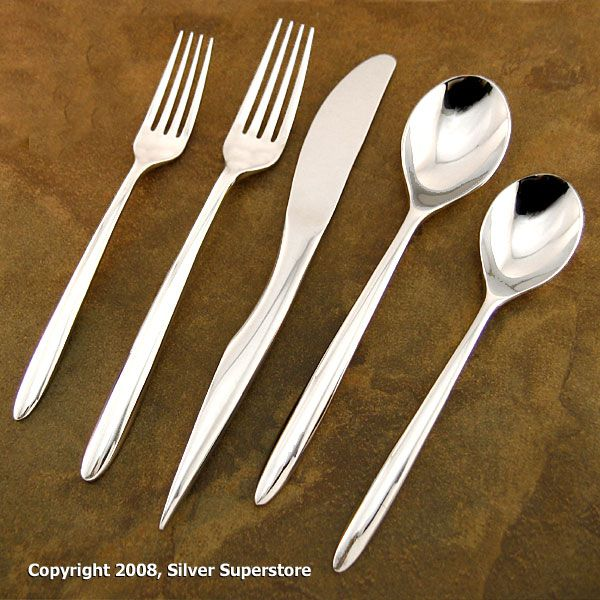 Dune By Nambe Stainless Flatware For Less