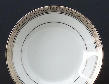 Noritake Crestwood Platinum Dinnerware Fruit & Crestwood Platinum formal china dinnerware by Noritake China