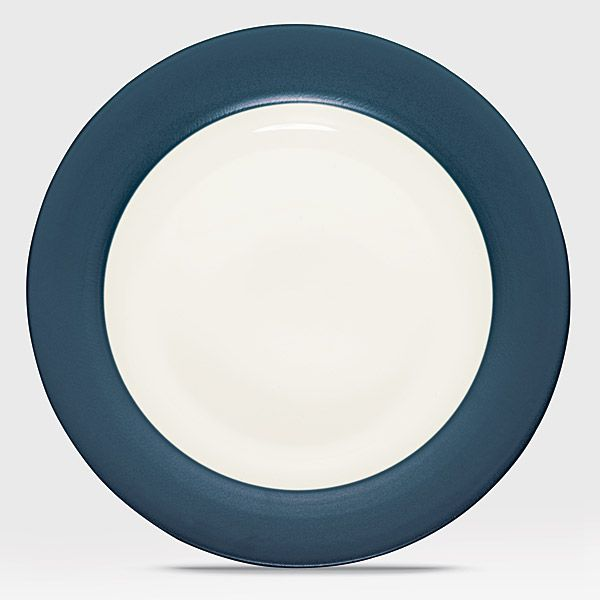 Noritake Colorwave Blue Dinnerware Dinner Plate Rim & Colorwave Blue stoneware at discount by Noritake - SilverSuperstore.com