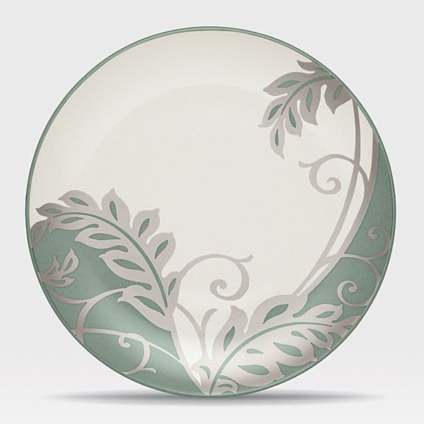 Colorwave Green stoneware at discount by Noritake - SilverSuperstore.com