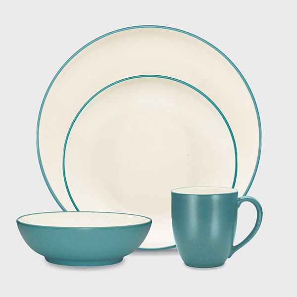 Larger Image & Noritake Colorwave Turquoise Stoneware Every Item | Silver Superstore