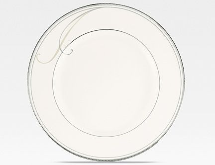 Noritake Platinum Wave Bread And Er Plate