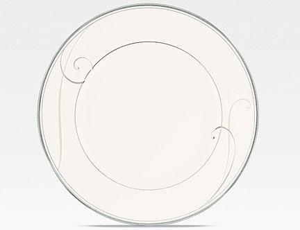 Noritake Platinum Wave Salad Plate  sc 1 st  Silver Superstore & Platinum Wave formal china dinnerware by Noritake China