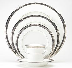 Chatelaline Platinum Noritake China