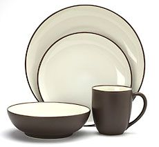 Colorwave Chocolate Noritake China