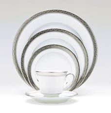 Crestwood Platinum Noritake China