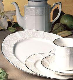 Noritake Imperial Lace Dinnerware & Imperial Lace dinnerware by Noritake - SilverSuperstore.com