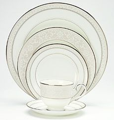 Montvale Platinum Noritake China