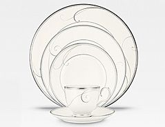 Platinum Wave Noritake China