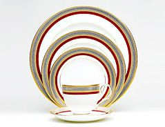 Ruby Coronet Noritake China