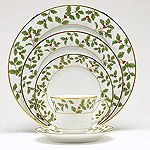 Noritake Holly and Berry Gold Dinnerware