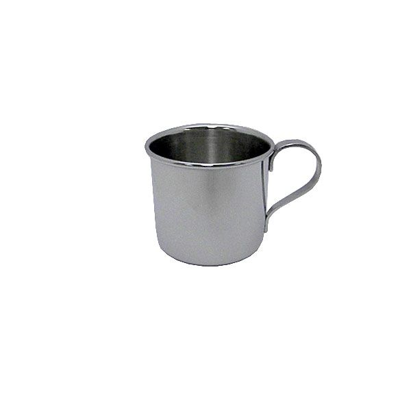 Oneida Classic Plain Stainless Steel Baby Cup