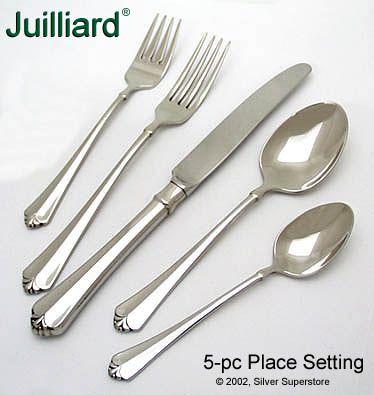 Oneida Juilliard Stainless Flatware At Discount