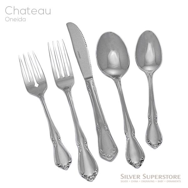 Chateau By Oneida Stainless Flatware For Less