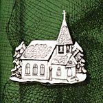 Hand and Hammer Church Sterling Silver Christmas Ornament