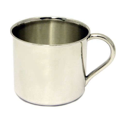 Reed And Barton Classic Plain Sterling Baby Cup