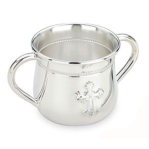 Abbey Silverplate Baby Cup by Reed & Barton