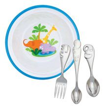 Reed and Barton Jungle Parade Child Flatware and Dinnerware