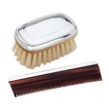 Reed and Barton Kent Boy's Comb and Brush Set