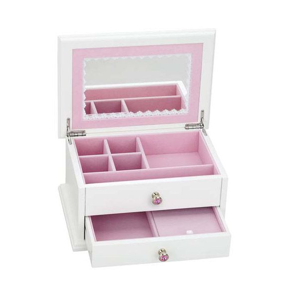 Reed and Barton Secret Princess Girls Jewelry Chest