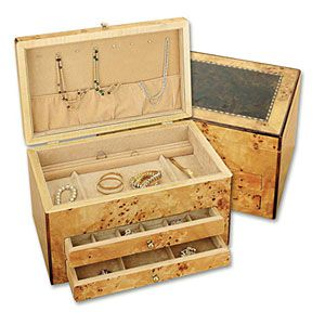 Reed and Barton Selene Jewelry Chest