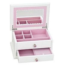 Reed and Barton Secret Princess Jewlelry Box for Girls