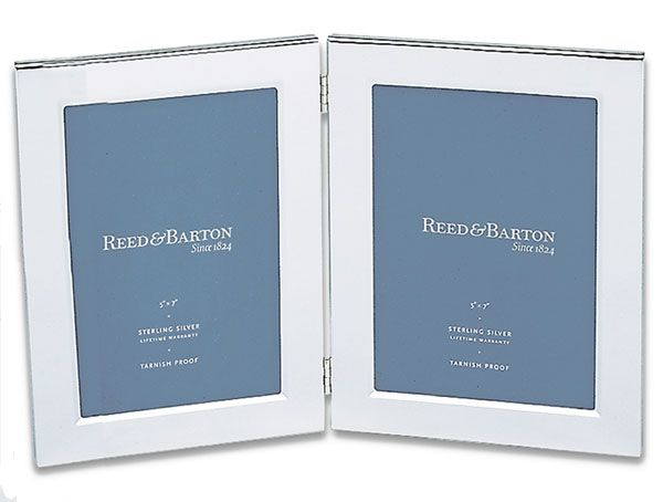 Reed And Barton Double Silver Plated Picture Frames