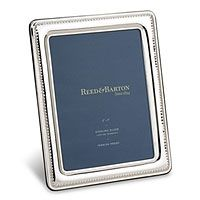 Reed and Barton Beaded Edge Sterling Silver Picture Frame