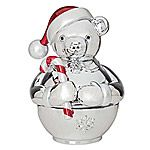 Reed and Barton Teddy Bear Silver Musical