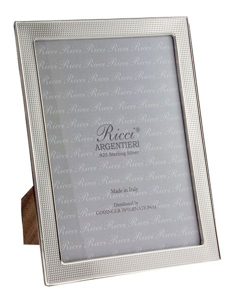 silver modern picture frames. Ricci Modern Dots Sterling Silver Frame Larger Image Silver Modern Picture Frames R
