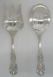 Salad Serving Set in Francis I, by Reed & Barton