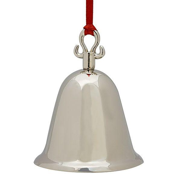 Sheridan Silver Bell Christmas Ornament