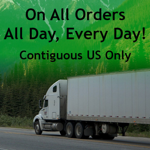 Free Shipping within Contiguous US